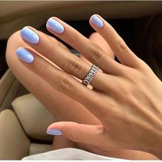 To help you achieve summer nails that are bang on trend, we've rounded up all . To help you achieve summer nails that are bang on trend, we've rounded up all the chic shades that will rule this season. Nagellack Design, Nagellack Trends, Hair And Nails, My Nails, Fall Nails, Summer Shellac Nails, Best Summer Nail Color, Nail Summer, Nail Colors For Summer