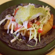 Taco de camarón rebozado estilo Ensenada #gastrotoursinmantel #mexican #foodporn #food #comida #yummy #Mexigers #IgersCDMX #happiness #tasty #love #shot #beautiful #awesome #photo #nice