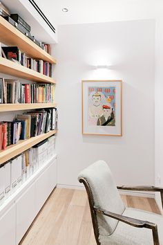Apartment Design, Degree In Interior Design Book In Library Home Idea: Breathtaking Immaculately White Luxury Apartment Adorned With Art Exh...