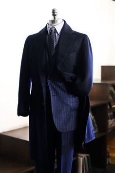 Tailorable & co. — Navy Cashmere coat fabric from Loro piana ...
