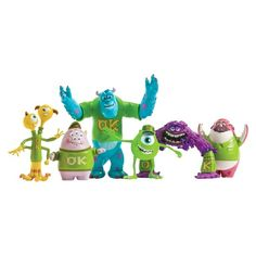 Monsters University Scare Oozma Kappa Students Figures - Pack of 6