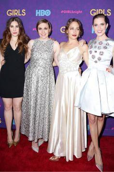 Hbo girls tv show cast