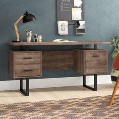Computer Desks You Ll Love Wayfair Credenza Desks Furniture