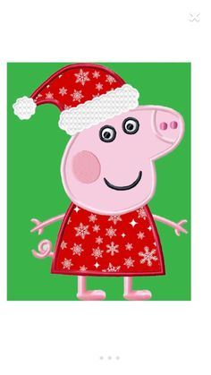 A personal favorite from my Etsy shop https://www.etsy.com/listing/487160391/peppa-pig-christmas-shirt