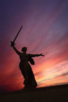 "The monument ""Motherland Calls!"", Volgograd, Russia 