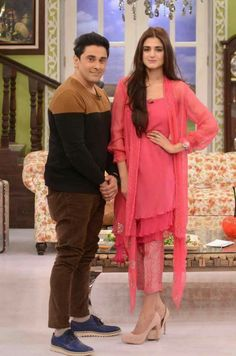 "Hira and Mani on ""Good Morning Pakistan"""