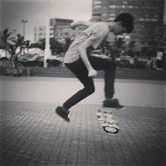 Doing a little bit of skating at the beach front lately.