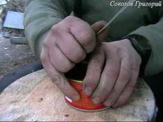 3 способа открыть консервы без консервного ножа.