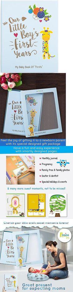 Keepsakes and Baby Announcements 117388: Ronica Memory Book For Baby Boy, Photo Album, Easy To Use Keepsake Scrapbook, To -> BUY IT NOW ONLY: $42.72 on eBay!