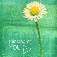 Pensando a te...