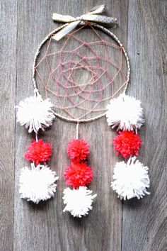 Je suis un petit bout en train: # DIY - A dreamcatcher