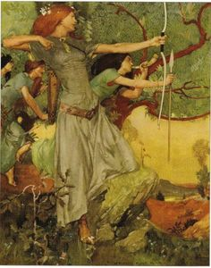 Diana the Huntress - by William Russel Flint