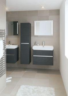 Bruynzeel Pinto 75 cm // badmeubel kolomkast badkamer sanitair / bathroom furniture cabinet / meuble salle de bain colonne