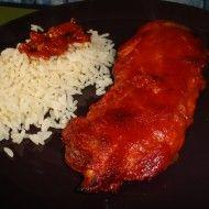 Fotografie receptu: Pikantní červené kuře