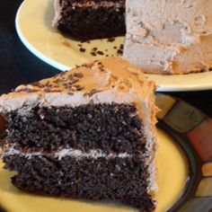 perfect chocolate birthday cake - super easy recipe that makes a perfect birthday cake. icing is a little sweet for my taste, but great for kids