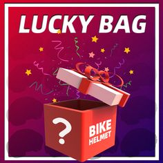 LUCKY BAG SURPRISE SEPTEMBER & OCTOBER ONLY! VICTGOAL is a brand that caters to selling professional bike helmets and cycling-related products. Every September & October, VICTGOAL lucky bags promotion go on sales. This is our company's gratitude to customers for their continued support and encouragement. Thank you so much for being with us all the way! #VICTGOALFAMILY Bike Helmets, Bicycle Helmet, Grab Bags, All The Way, Gratitude, Promotion, Cycling, Encouragement, September