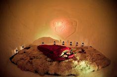 Das Romantic Iglu - Tierischer Urlaub mit Hund im winterlichen Iglu in Kühtai, Tirol (c) Iglu Village Kühtai  Außergewöhnliche Hotels & Unterkünfte mit Hund in Österreich - www.tierischer-urlaub.com. Urlaub mit Hund, Katze & Co