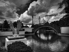 This is Louis Armstrong Park located in the Treme neighbohood in New Orleans, LA.