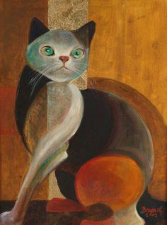 Brassai Gabi :Black cat
