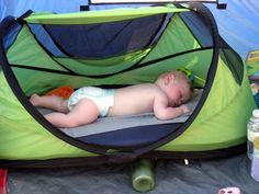 Camping with babies - lots of tips