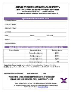 sample of sponsorship proposal letter