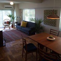 Interior Architecture, Interior Design, Modern Chandelier, Indoor Plants, Room Inspiration, Dining Table, Mid Century, House Design, Takachiho