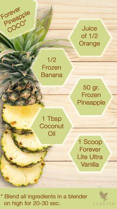 Forever Living is the world's largest grower, manufacturer and distributor of Aloe Vera. Discover Forever Living Products and learn more about becoming a forever business owner here. Forever Living Aloe Vera, Forever Aloe, Frozen Pineapple, Frozen Banana, Protein Shake Recipes, Protein Shakes, Smoothie Drinks, Smoothie Recipes, Aloe Berry Nectar