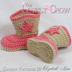 Dieses Angebot gilt für ein Muster GEHÄKELT. Nicht kaufen Sie einen fertigen paar shoes.* **    Haben Sie Fragen? Überprüfen Sie das Forum! -http://www.ravelry.com/groups/the-lovely-crow    Sie betrachten eine häkeln Muster für Socken, die aussehen wie kostbaren kleinen Cowboy-Stiefel. Dieses Muster ist so geschrieben, dass diese Stiefel etwas ziehen auf wie Socken. Sie sind an der Spitze für Fette kleine Baby Beine breiter, aber gut um den Knöchel ausgestattet, damit sie bleiben. Dieses…