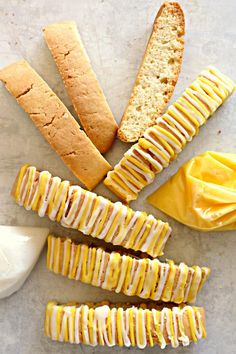 Lemon Biscotti are a