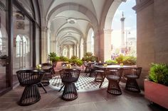 Tom Dixon for Design Research Studio's   Bronte Restaurant in London