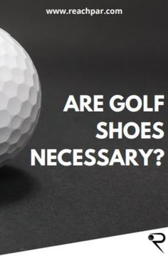 If you want to make your game better, golf shoes are often regarded as a must-have item. There is, however, some confusion about whether they offer benefits beyond their appearance for amateur golfers. This guide is going to talk a bit about whether golf shoes are worth it and necessary. By following our guide, you can decide if you need golf shoes and which type you should purchase. #golf #golfclubs #golftips #golfer #golftraining #reachpar Golf Books, Spikeless Golf Shoes, Best Golf Courses, Golf Training, Play Golf, Good Grips, Golf Tips, Golf Ball, Golf Clubs