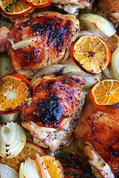 Roasted Chicken with Clementines                                         			   			Adapted from Jerusalem by Yotam Ottolenghi and Sami Tamimi...