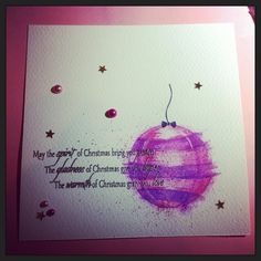 #Christmas #cards #decoration #balls #watercolour #embossing #handmade #handdrawn #crafts #drawing