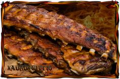 Oven baked ribs with chili garlic salt
