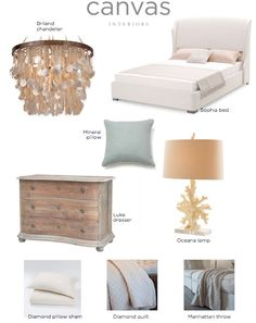 Canvas Interiors moodboard: beach cozy