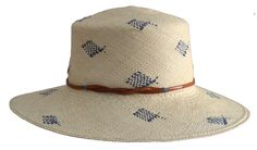 SS1504 pisces-blue straw black sunhat ribbon tassle hat fashion headwear spring fashion s:s15 vacation USA US NYC Brooklyn Craft Handmade fish-hat summer beach.jpg