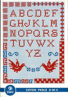 Vintage Cross-Stitch Sampler by Britex Fabrics, via Flickr