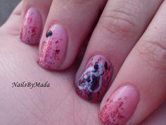 NailsByMada: Alphabet nail art challenge - E (Elegant Emo)