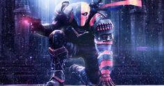 deathstroke video game 4k ultra hd wallpaper