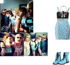 """""""If i was in R5 182"""" by babyely ❤ liked on Polyvore"""
