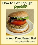 60% Off Through 3.31.14: eBook - How to Get Enough Protein in Your Vegetarian or Vegan Diet. Everything you need to know about protein for your vegetarian or vegan diet.