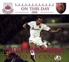 #ONTHISDAY 1999! THIS MAN MADE HIS #WESTHAM DEBUT AT WIMBLEDON