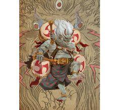 Raijin Art by Adrian Smith.