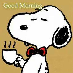 Good Morning!   --Peanuts Gang/Snoopy
