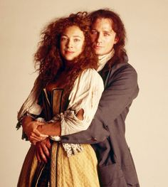 it's Alex Kingston and DANIEL CRAIG in a TV version of Moll Flanders. And jolly good it was too. But read the book - it's fabulous Daniel Defoe, Alex Kingston, Robinson Crusoe, Fantasy Costumes, Smiles And Laughs, Period Costumes, Daniel Craig, Classic Literature, Matt Smith