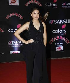 Anushka Sharma at the red carpet of Stardust Awards 2016. #Bollywood #Fashion #Style #Beauty #Hot #Sexy