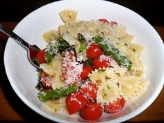 pasta with aspargus
