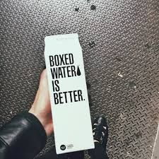 boxed water tumblr