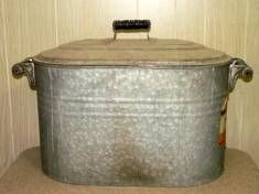 Galvanized Boiler With Lid