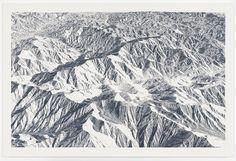 Toba Khedoori - Untitled (mountains 2) 2011-2012